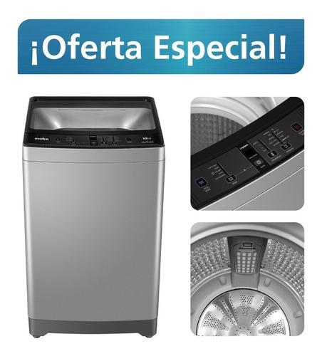 lavadora automática digital 10 kg gris mabe - lma0120wpab0