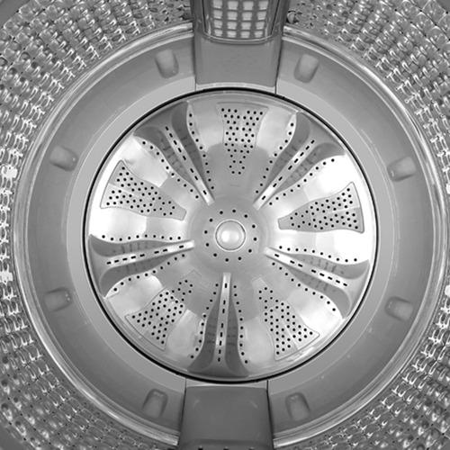 lavadora automática digital de 14kg/28lbs  -  lma4120wbab0
