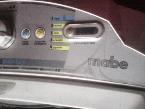 lavadora automatica mabe usada con detalles