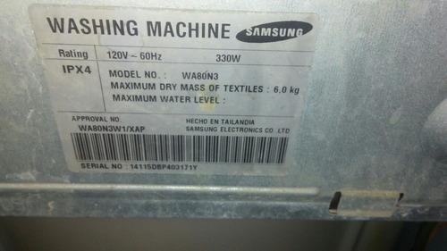 lavadora automática samsung para repuesto
