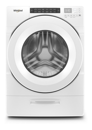 lavadora carga frontal sistema load&go 18kgs 7mwfw5622hw whi