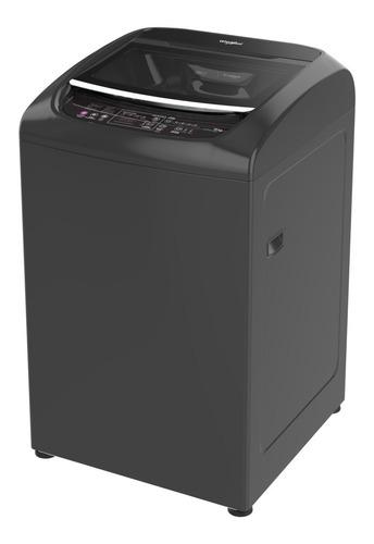 lavadora carga superior turbo power 18kgs gris whirlpool