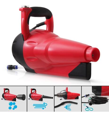lavadora carro 4 em 1 soprador aspirador espumador 127v