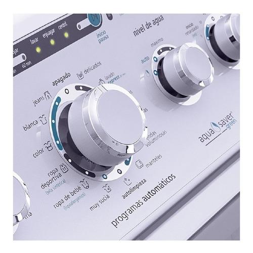 lavadora centrales automatica 37lbs. blanca lca77104vbab1