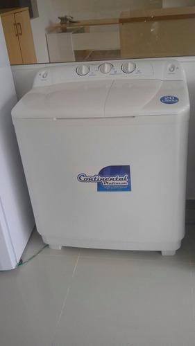 lavadora continental 20 libras