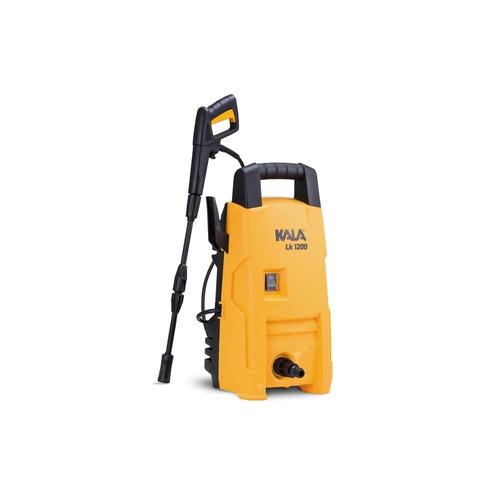 lavadora de alta pressão 1200w 127v lk amarela e preta