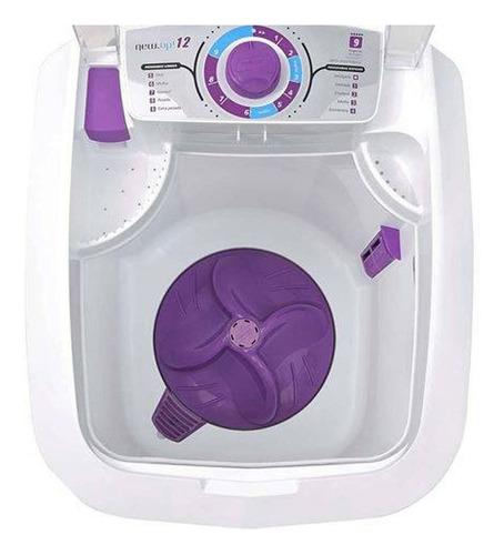 lavadora de roupas 12 kg semiautomática new  branco