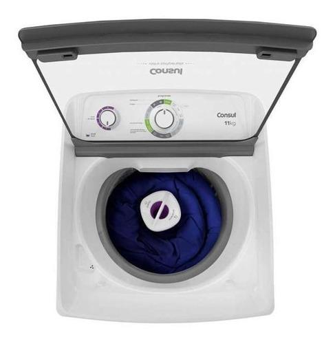 lavadora de roupas consul cwh11ab, 11kg, 15progr,branca 220v