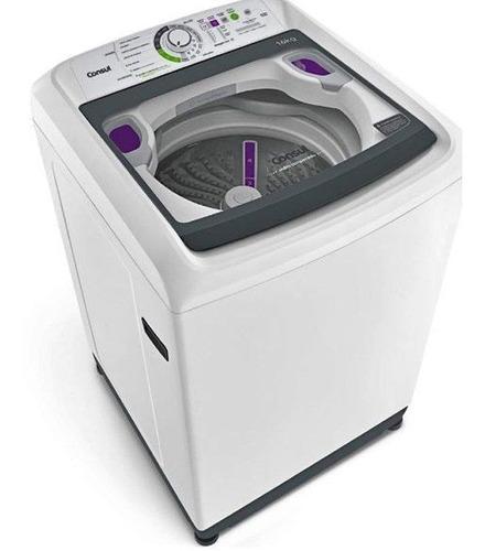 lavadora de roupas consul cwl16ab, 16 kg, 15 programas, 110v