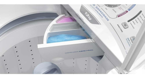 lavadora de roupas electrolux 13 kg alta capa branco