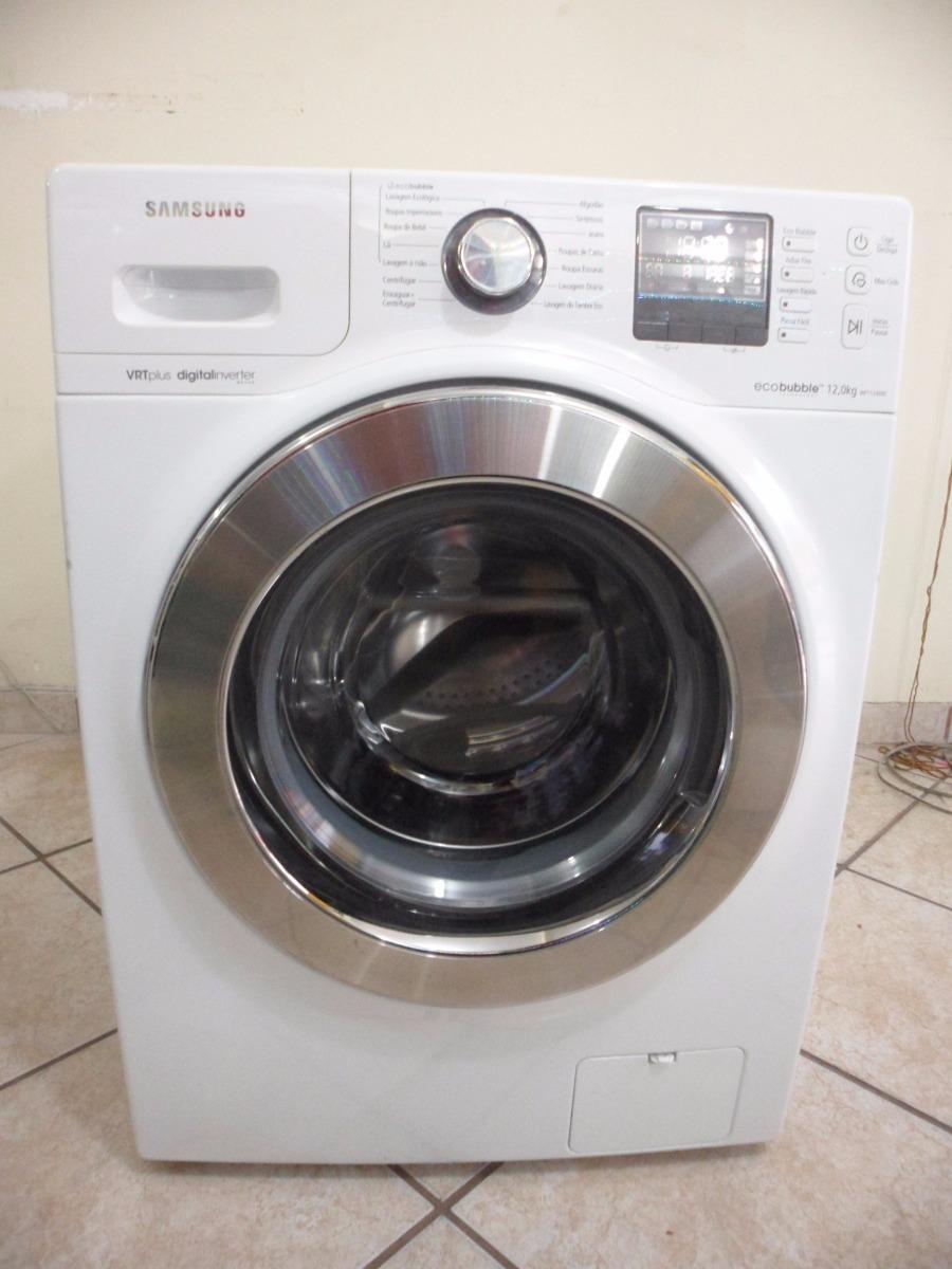 df64f5e0a lavadora de roupas samsung 12kg 110v eco bubble wf1124xbc. Carregando zoom.