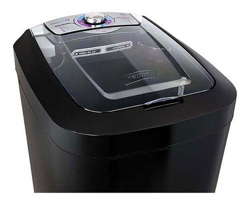 lavadora de roupas tanquinho semiautomática  preto