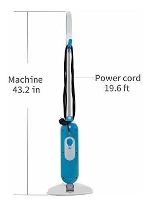lavadora de vapor kazoo 1000w 350ml microfiber steam pocket