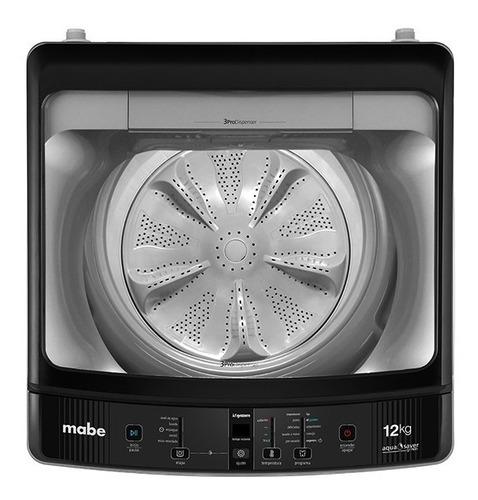 lavadora digital automática 12 kg silver mabe - lma2120wpab0