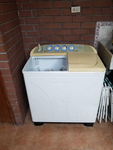 lavadora doble tina