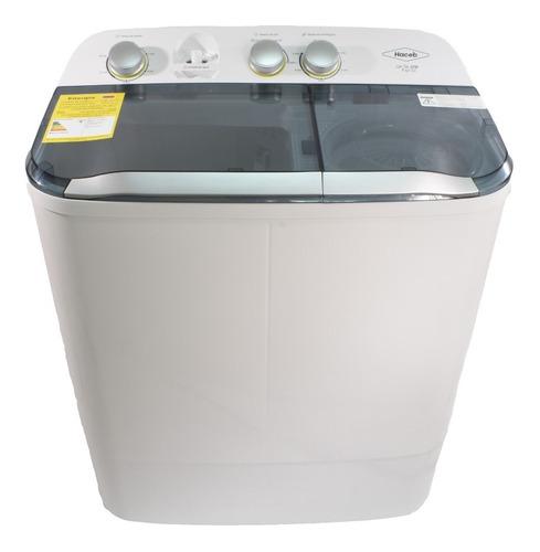 lavadora doble tina de 7 kilos haceb