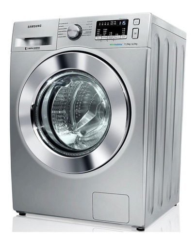 lavadora e secadora de roupas samsung 11kg-wd11m44530s- 110v
