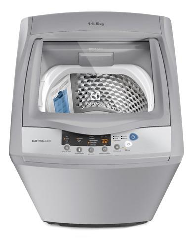 lavadora essential care electrolux ewif11d3cgsg 11.5 kg gris
