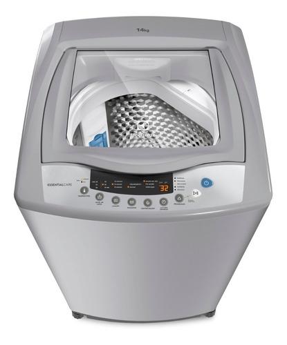 lavadora essential care electrolux ewif14d3cgsg 14 kg gris