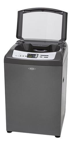 lavadora haceb advance 30 libras titanio - lav d1400 ox