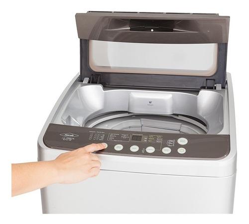 lavadora haceb d0850 plata capacidad 8,5 kg