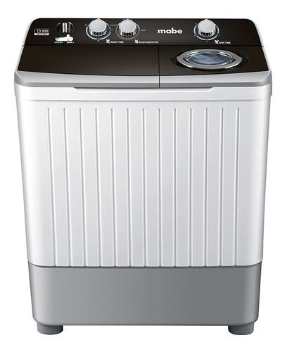 lavadora mabe semiautomática de 13kg/26lbs lmd3124pbab0