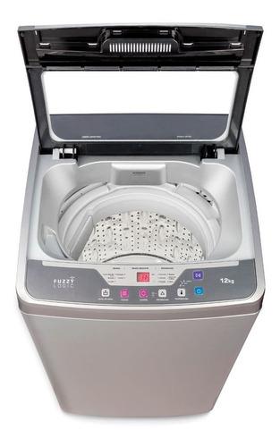 lavadora mademsa 12 kilos tambor de acero efficace12szg