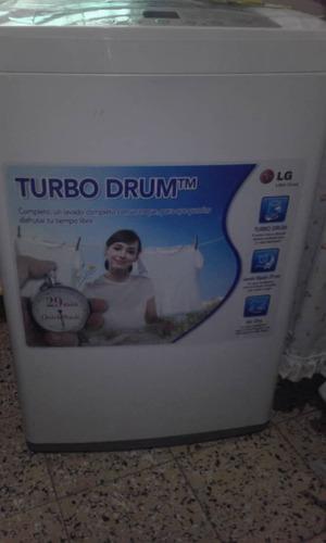 lavadora marca lg auttomatica digital  7kg turbo drum