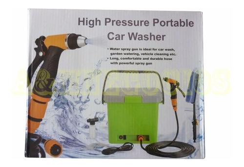 lavadora portatil para autos alta presion automática calidad
