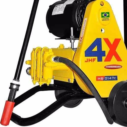 lavadora  pressão profissional lava jato 3 pistões 220v