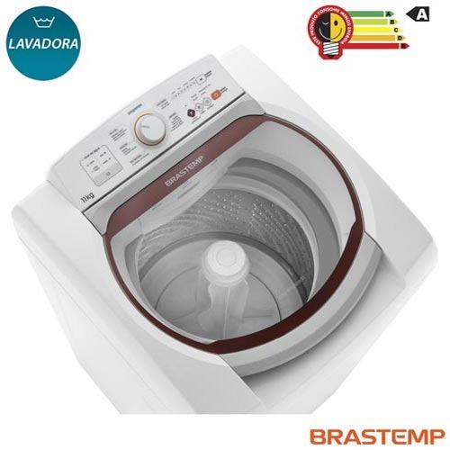 lavadora roupas 11kg brastemp 05 programas branco bwk11ab