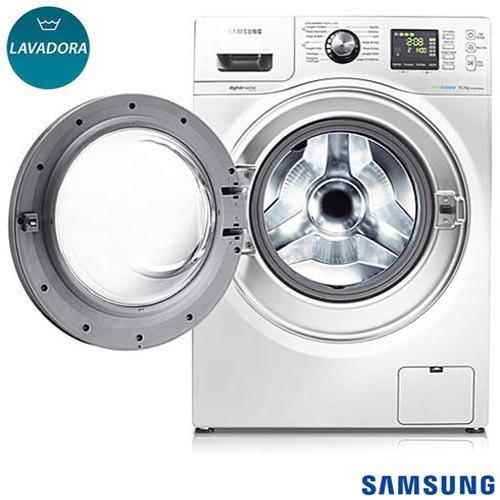 lavadora roupas samsung 10,1 kg seine branca 14 wf106u4sawq
