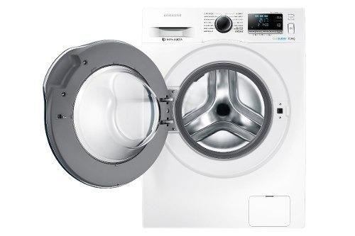 lavadora samsung 10 kg carga frontal blanca ww10j6410cw/zs