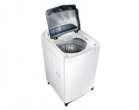 lavadora samsung 16kg/35lb blanca dualwash wa16j6710lw