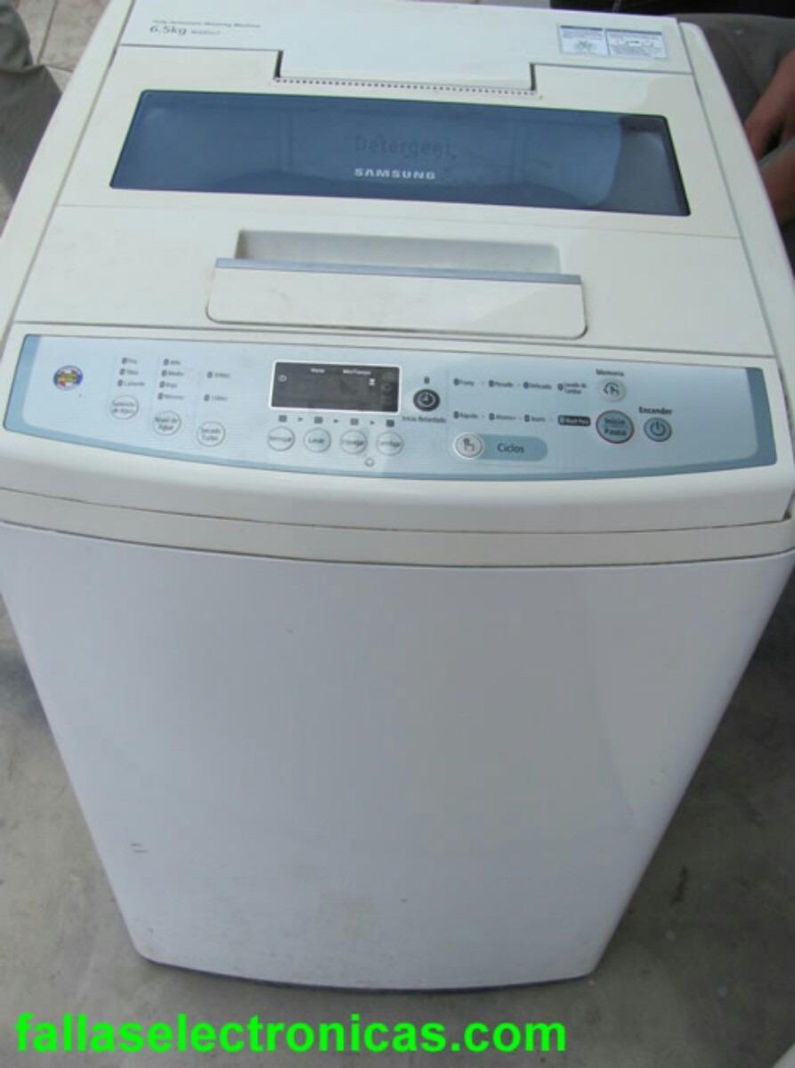 Lavadora samsung s 29 90 en mercado libre for Cuanto pesa lavadora