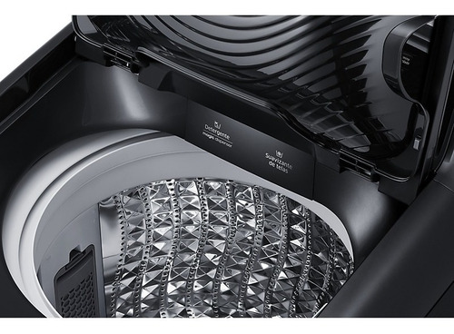 lavadora samsung activ dualwash, 19 kg wa19n6780cv