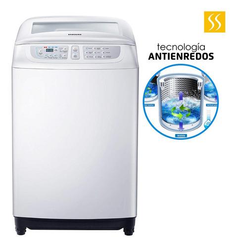 lavadora samsung blanca 14kg 31lb tecnologia antienredos