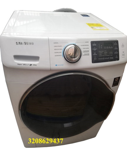 lavadora samsung blanca carga frontal nueva20kg wf20m5500aw