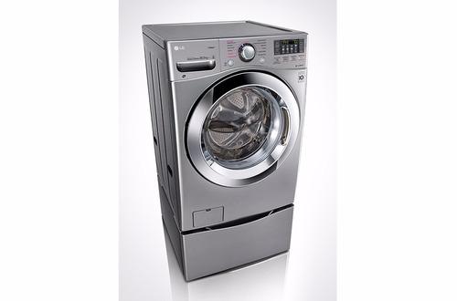 lavadora / secadora lg carga frontal,44lbs/20kg, 6motionturb