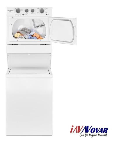 lavadora secadora morocha whirlpool wet4027hw 12 kg