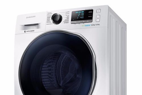 lavadora secadora samsung 9/5 kg blanco wd90j6410aw/zs