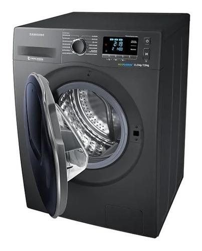 lavadora secadora samsung carga frontal 11.5kg - wd11k6410ox