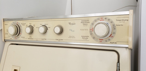 lavadora secadora whirlpool electrica en torre 20 kgs