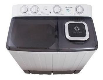 lavadora semeautomatica  daewoo md (dw1601kp)  nueva en caja
