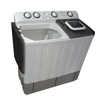 lavadora semiautomatica daewoo blanca de 12 kg
