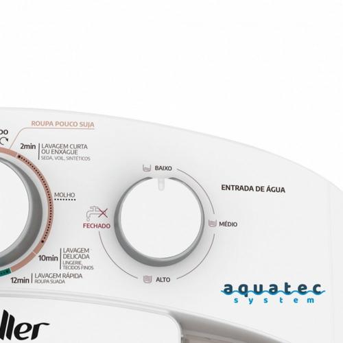 lavadora semiautomática family aquatec 10kg mueller