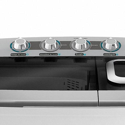 lavadora semiautomática mabe® (lmd1323pbabo) nueva en caja