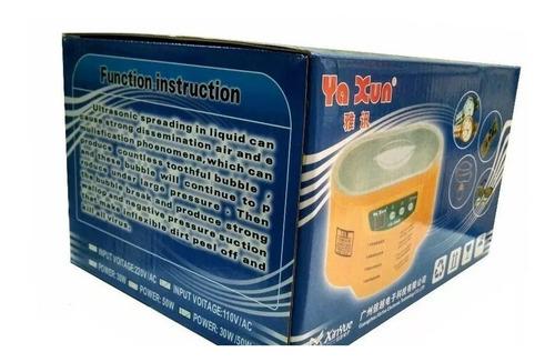 lavadora ultrasonido yaxun 3030 nueva tienda fisica