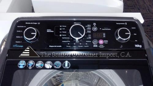 lavadora whirlpool 16 kg con botones y digital
