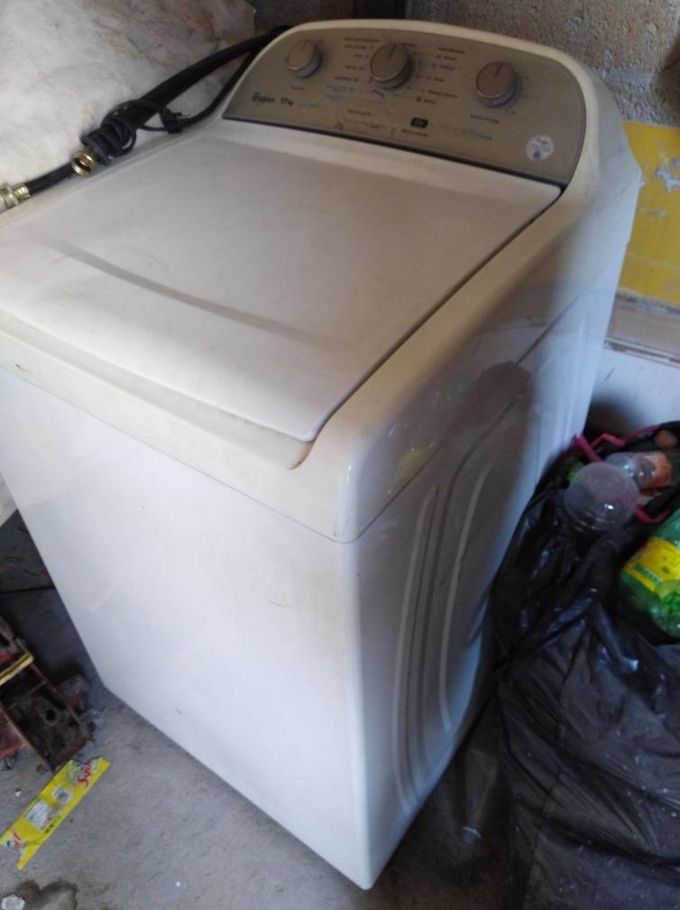lavadora whirlpool 17kg manual e automática a tratar